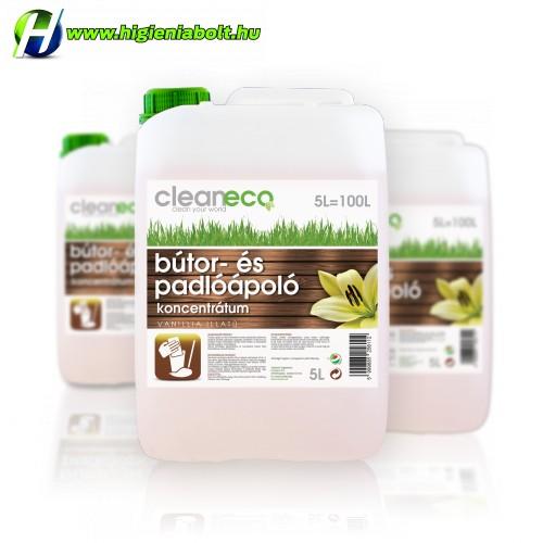 Cleaneco Bútor és padlóápoló 5L Koncentrátum
