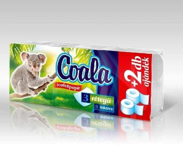 Coala wc papír 10 tekercses