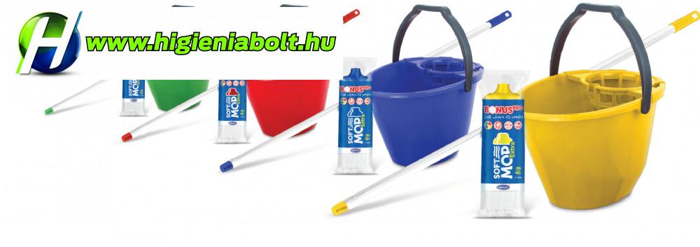 BONUS felmosó szett: vödör kosárral+ Eco TWIST mop+felmosó nyél