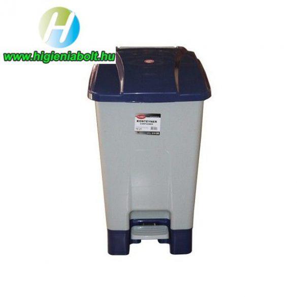 70 literes szelektív hulladékgyűjtő kuka kék