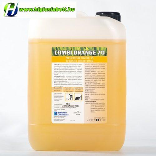Combi Orange 70 PADLÓFÉNYEZŐ  ÉS ÁPOLÓSZER KONCENTRÁTUM 5 kg