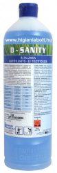 D-Sanity   Általános fertőtlenítő- és tisztítószer 1kg