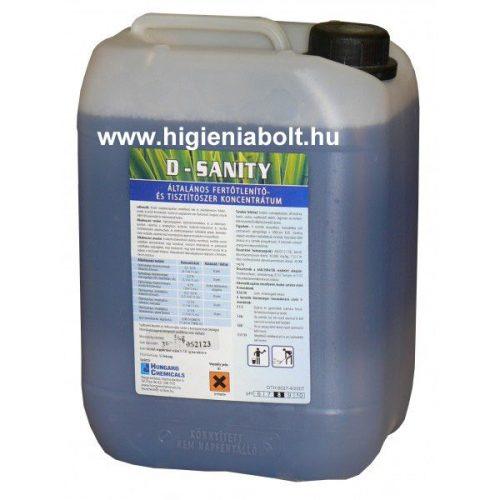 D-Sanity Általános fertőtlenítő- és tisztítószer 5L-es