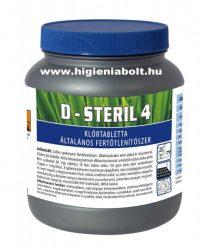 D-Steril 4 Klórtabletta
