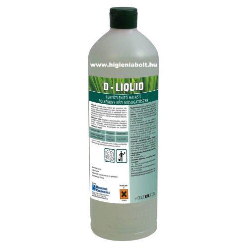 D- Liquid Fertőtlenítő mosogatószer 1kg