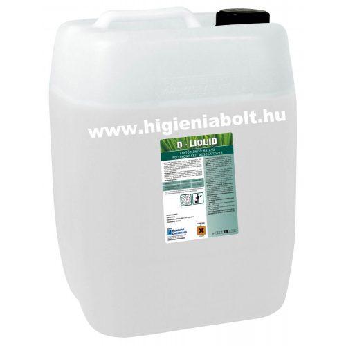 D- Liquid fertőtlenítő mosogatószer 20kg