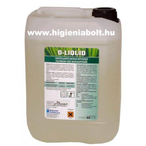 D- Liquid fertőtlenítő mosogatószer 5kg
