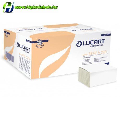 Hajtogatott Kéztörlő Natur Lucart V250 Easy