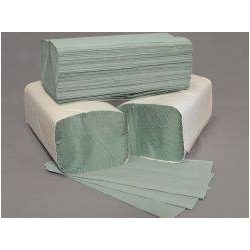 Hajtogatott Kéztörlő Zöld 5000 lapos