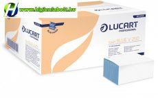 Hajtogatott Kéztörlő Kék 1 rétegű 5000lapos Lucart V250 Easy Blue