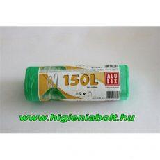 Alufix szemeteszsák zárószalaggal erős 150L HDPE