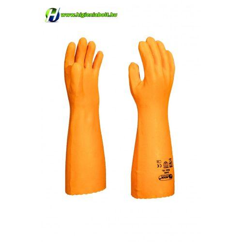 Sav és lúgálló kesztyű, 45 cm L