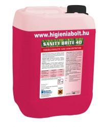 Sanity Brite 40 Vizkőoldószer 5kg