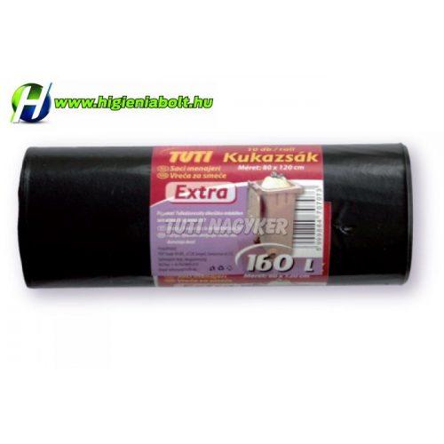 Szemeteszsák 160L 10 db/rollni extra