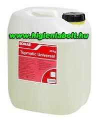 Topmatic Universal gépi mosogatószer 25kg-os