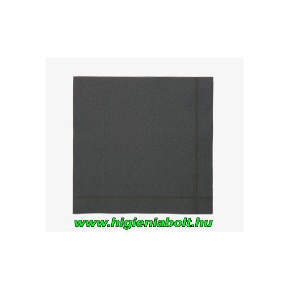 Tork 19411 Premium szalvéta 40, Extra Soft, dekor fekete 2 rétegű