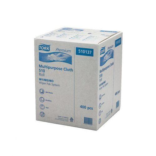 Tork 510137  Premium Multipurpose Cloth 510 Uniroll W1,W2,W3