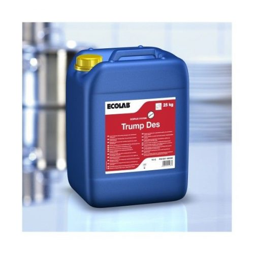 Trump Des Fertőtlenítő hatású gépi mosogatószer 25 kg