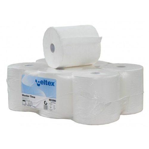 Tekercses kéztörlő papír autómata adagolóhoz Celtex Master Time 40300