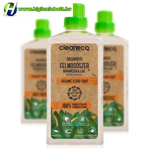 Cleaneco Organikus Felmosószer növényi alkohollal - Narancsolajjal 1L