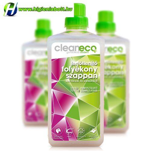 Cleaneco Folyékony szappan fertőtlenítő hatású 1L