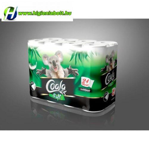 Coala Soft wc papír 24 tekercses 3rétegű