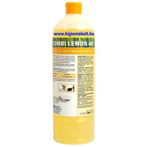 Combi Lemon40 Kézi és gépi padozattisztító 1kg