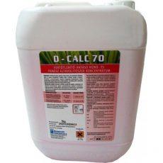 D-Calc 70 Fertőtlenítő hatású vízkőoldószer 5kg