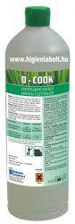 D-Cook Általános konyhai tisztító és fertőtlenítő 1kg