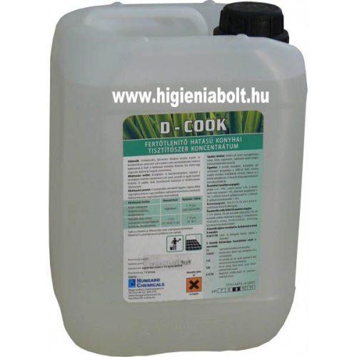 D-Cook Általános konyhai tisztító és fertőtlenítő 5L