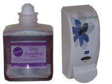 Deb habszappan Aromatherapy + Adagoló