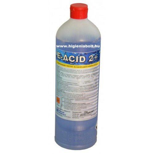 E - Acid 2+ Fertőtlenítő hatású foszforsavas vízkőoldó 1kg