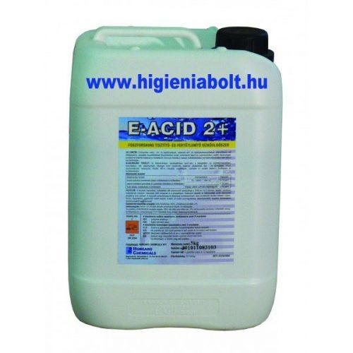 E - Acid 2+ Fertőtlenítő hatású foszforsavas vízkőoldó 5L