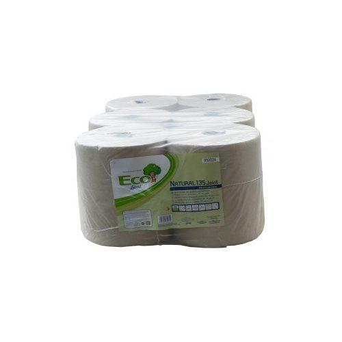 Tekercses kéztörlő papír Eco LucArt Natural 19cm