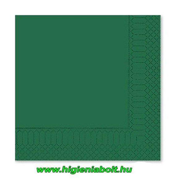 Fato szalvéta zöld 33x33cm 2rétegű