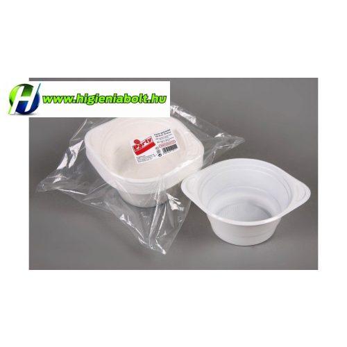 Műanyag gulyás tányér 450 ML