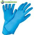 Gumikesztyű kék M