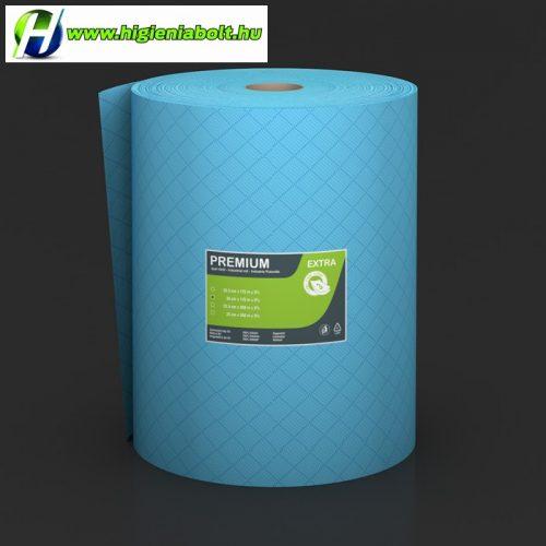 Ipari papírtörlő Premium Extra 35/26 kék 3 rétegű ragasztott