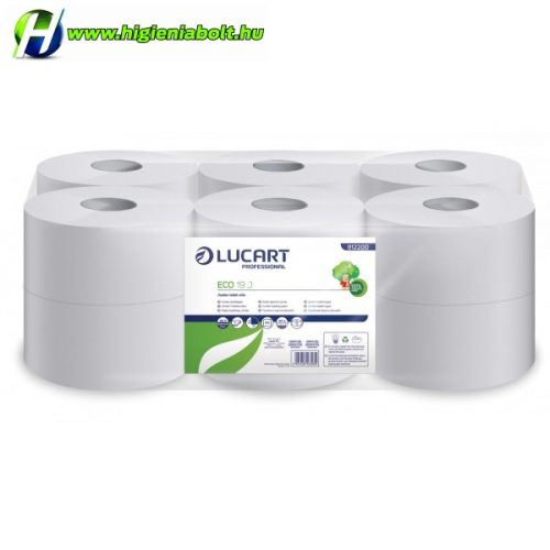 Lucart Eco Jumbo Toalettpapír 19cm 2 rétegű