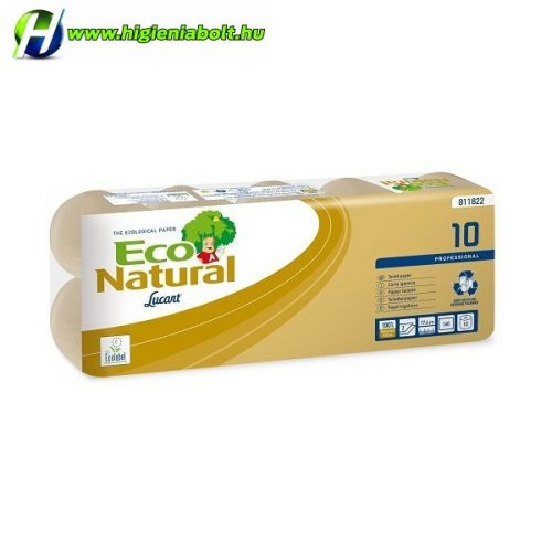 Lucart Eco Natural 10 kistekercses toalettpapír 811822