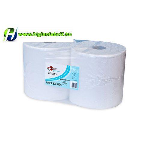 Ipari tekercses kéztörlő papír 2 rétegű 800 lap 240méter Bokk