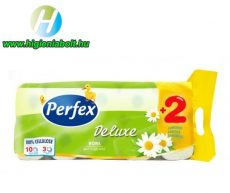 Perfex Wc Papír 10 tekercses Kamilla 3 rétegű