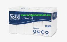 Tork 10300 Universal szalvéta 33, papír fehér 1 rétegű