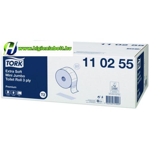 Tork 110255 - Premium toalettpapír mini jumbo, extra soft  T2
