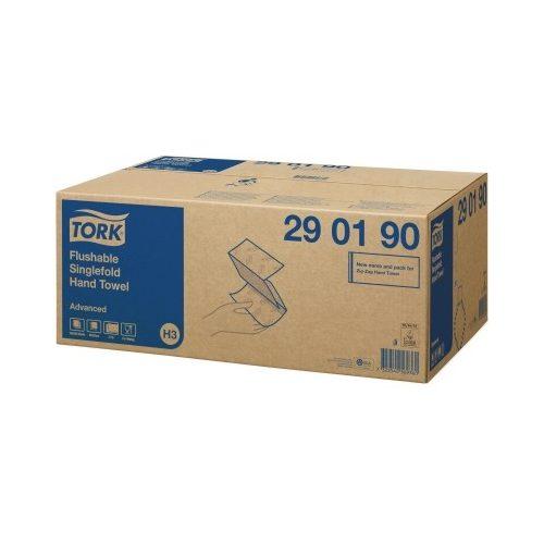Tork 290190 Advanced Z hajtogatott kéztörlő, toalettbe dobható H3