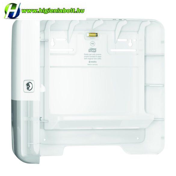 Tork 552100 adagoló Interfolded hajtogatású kéztörlőhöz, mini, fehér H2