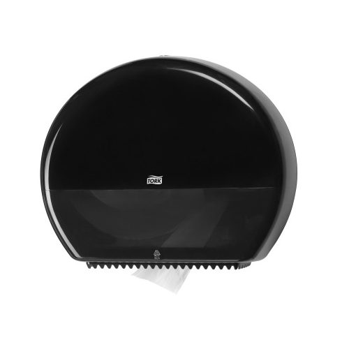 Tork 554008 Jumbo toalettpapír adagoló, fekete T1