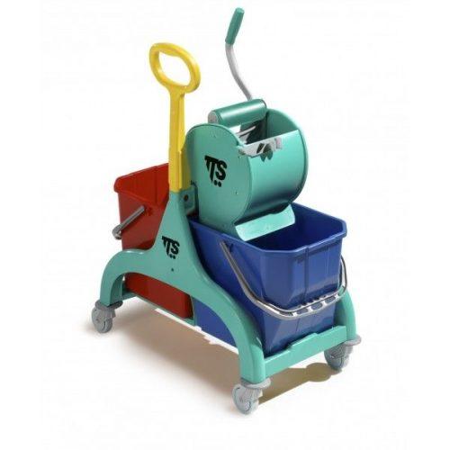 TTS Nick Kétvödrös Takarítókocsi Dry préssel
