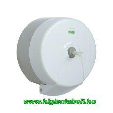 Vialli belső adagolású toalettpapír adagoló fehér K5T