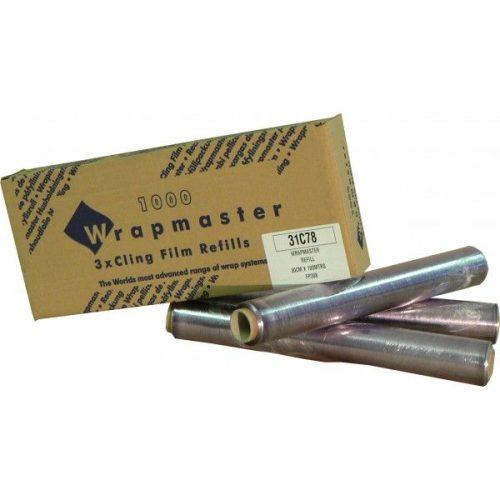 Wrapmaster pvc fólia (folpack) 30cm széles 100méteres